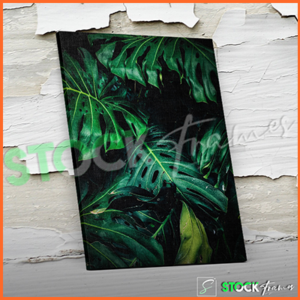 Canvas Prints Single Panels (Green Leaves 2) – 18×24, 40×40, etc.