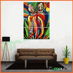 Canvas Prints Triptych – (3 Piece Artistic Wall Arts)