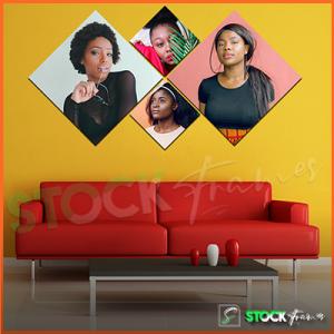 Split Canvas Prints (4 in 1) Multi Panels – 4 IMAGES INSERT