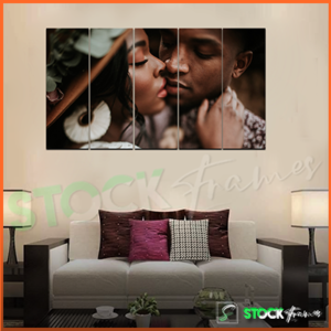 Split Canvas Prints (5 in 1) Multi Panels – 1 IMAGES INSERT