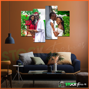 Split Canvas Prints (4 in 1) Multi Panels – 2 IMAGES INSERT
