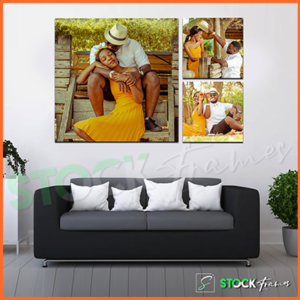 Canvas Gallery Wall Frames In Nigeria – 3 Sets, 3 Images