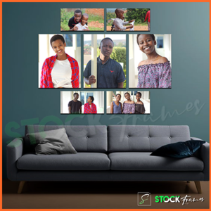 Canvas Gallery Wall Frames In Nigeria – 7 Sets, 7 Images